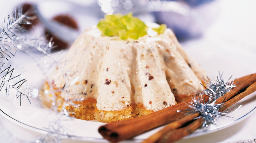 Lebkuchen-Eistörtchen