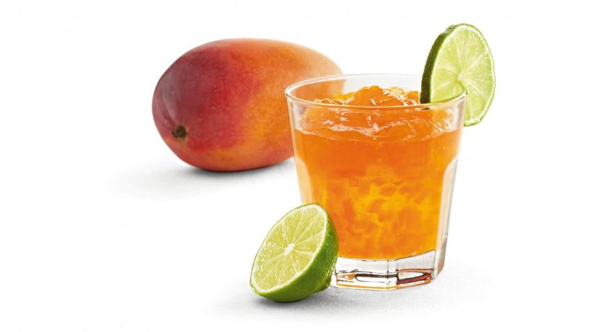 Mango-Limetten-Konfitüre
