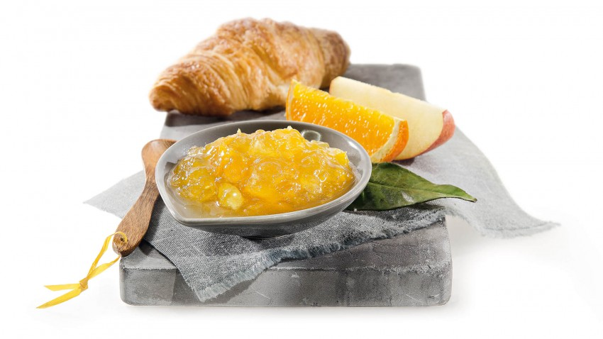 Orangen-Apfel-Konfitüre