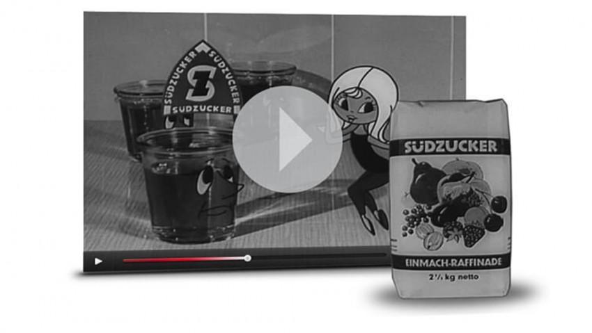 Werbespot Einmachzucker mit Susi Südzucker aus den 60er Jahren