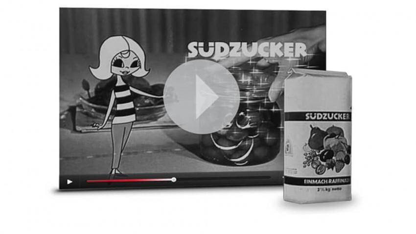 Werbespot Einmachen mit Susi Südzucker aus den 60er Jahren