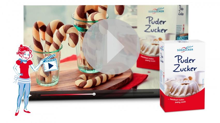 Zuckerstangen Cookies