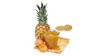 Ananas-Aprikosen-Konfitüre mit Gelier Zucker 1plus1