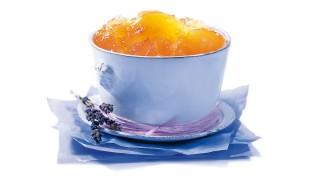Apfelbrotaufstrich mit Lavendelblüten mit Gelier Zucker 3plus1
