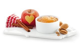 Bratapfel-Aufstrich  mit Gelier Zucker 2plus1