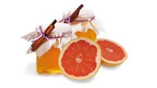 Apfel-Grapefruit-Brotaufstrich (Mikrowelle) mit Gelier Zucker 3plus1