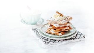 Apfel-Lebkuchen-Waffeln