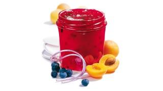 Aprikosen-Heidelbeer-Konfitüre mit Gelier Zucker 1plus1