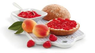 Aprikosen-Himbeer-Konfitüre  mit Gelier Zucker 1plus1