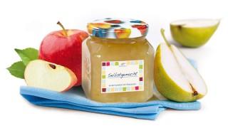 Birnen-Apfel-Brotaufstrich mit Gelier Zucker 3plus1