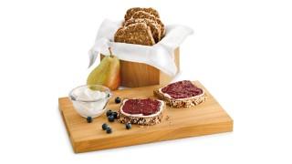 Birnen-Heidelbeer-Brotaufstrich mit Gelier Zucker 2plus1