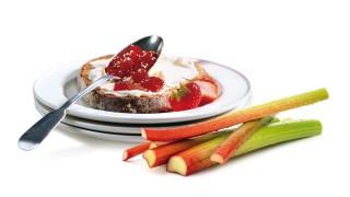 Erdbeere & Rhabarber mit Gelier Zucker 1plus1