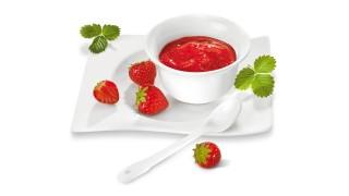 Erdbeerfruchtaufstrich  mit Fix & Fruchtig