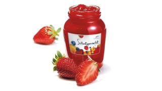 Erdbeerkonfitüre  mit Gelier Zucker 1plus1