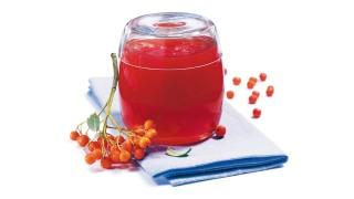 Eberesche-Apfel-Gelee mit Gelier Zucker 1plus1