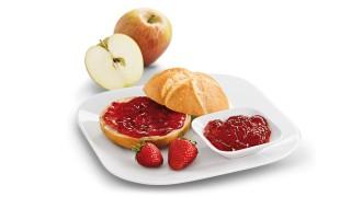 Erdbeer-Apfel-Heidelbeer-Brotaufstrich mit Gelier Zucker 3plus1