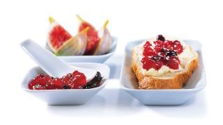 Feigen-Johannisbeer-Konfitüre mit Gelier Zucker 1plus1