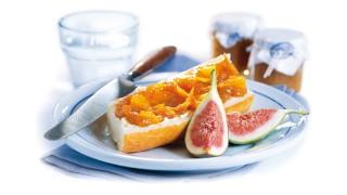 Feigen-Orangen-Brotaufstrich mit Gelier Zucker 3plus1