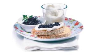 Heidelbeerbrotaufstrich mit Gelier Zucker 3plus1