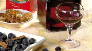 Heidelbeer-Grappa-Likör