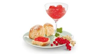 Johannisbeerbrotaufstrich (rosa) mit Gelier Zucker 3plus1