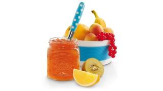Kunterbunt-Konfitüre mit Gelier Zucker 1plus1