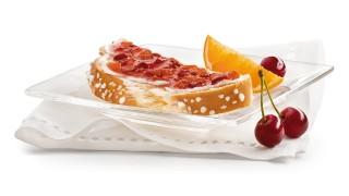 Kirsch-Orangen-Brotaufstrich mit Gelier Zucker 3plus1