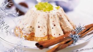 Mandelbiskuit für Lebkuchen-Eistörtchen
