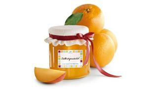 Orangen-Mango-Brotaufstrich mit Gelier Zucker 3plus1