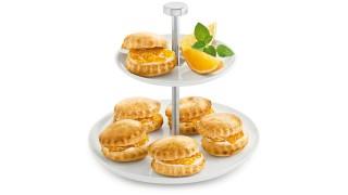 Orangenmarmelade mit Minze mit Gelier Zucker 1plus1