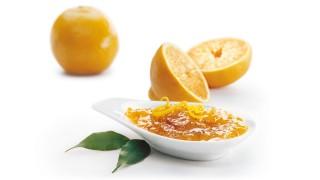 Orangenmarmelade mit Campari mit Gelier Zucker 1plus1