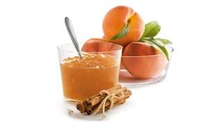 Pfirsichbrotaufstrich mit Zimt und Vanille mit Gelier Zucker 3plus1