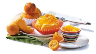 Pflaumen-Kumquat-Brotaufstrich  mit Gelier Zucker 2plus1