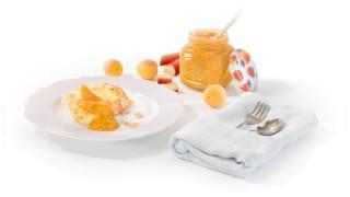 Rhabarber & Aprikose mit Gelier Zucker 2plus1