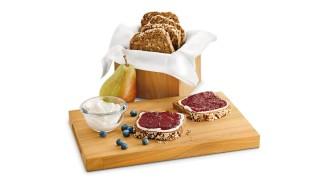 Schlehen-Birnen-Brotaufstrich mit Gelier Zucker 3plus1