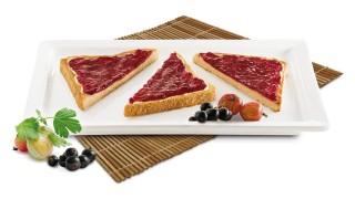 Stachelbeer-Johannisbeer-Brotaufstrich mit Gelier Zucker 3plus1