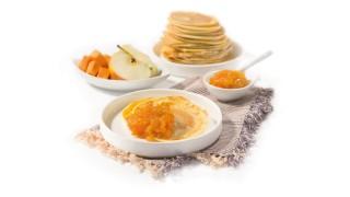 Süßkartoffel & Apfel mit Gelier Zucker 2plus1