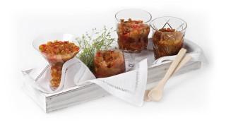Tomaten-Paprika-Gurken-Relish