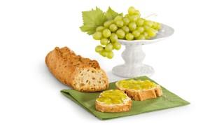 Weiße Traubenkonfitüre mit Gelier Zucker 1plus1