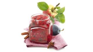 Zwetschgen-Apfel-Konfitüre mit Gelier Zucker 1plus1