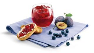 Zwetschgen-Heidelbeer-Konfitüre mit Gelier Zucker 1plus1