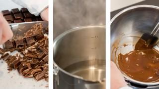 Wie schmelze ich Schokolade?