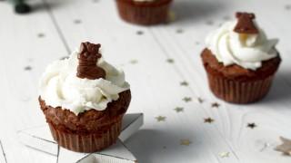 Schokoladen-Glühwein-Cupcakes