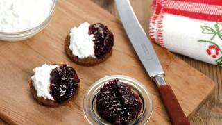 Brombeere & Pfirsich mit Stückchen mit Gelier Zucker 1plus1