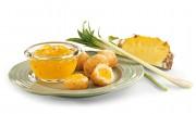 Ananasbrotaufstrich mit Chili und Zitronengras  mit Gelier Zucker 3plus1