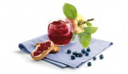 Apfel-Heidelbeer-Konfitüre (Mikrowelle) mit Gelier Zucker 1plus1