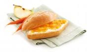 Apfel-Möhren-Brotaufstrich mit Kokosflocken mit Gelier Zucker 2plus1