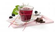 Brombeerbrotaufstrich mit Zartbitterschokolade mit Gelier Zucker 2plus1