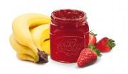 Erdbeer-Bananen-Brotaufstrich mit Gelier Zucker 3plus1