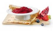 Erdbeerbrotaufstrich mit getrockneten Cranberrys mit Gelier Zucker 2plus1